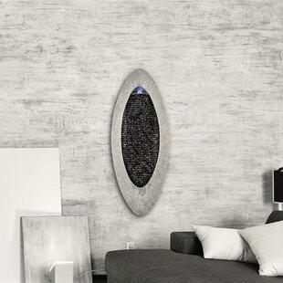 Gavarnie Acrylic And Stone Wall Fountain With Light By Blumfeldt
