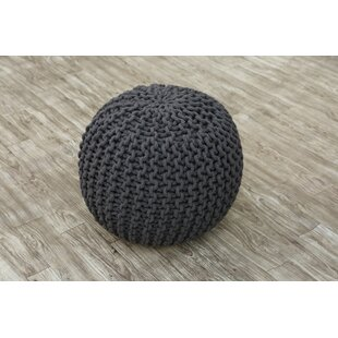 Best Reviews Lares Tufted Pouf By Wrought Studio