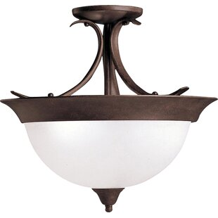 Cayman 3-Light Semi Flush Moun..