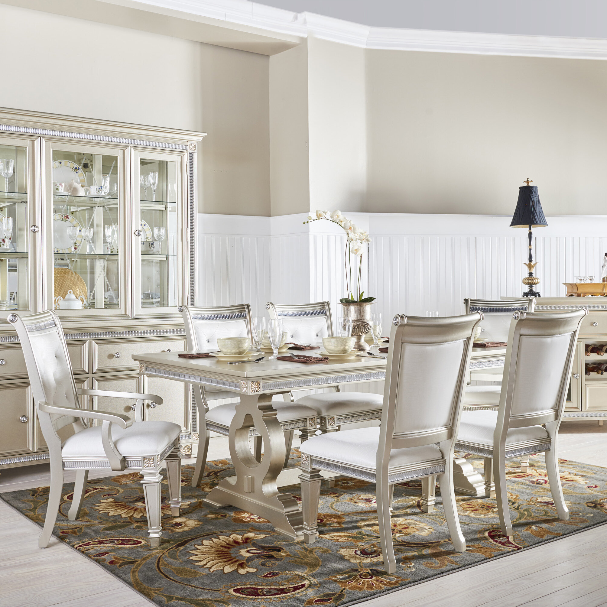 Ideal Fairfax Home Collections Tiffany 7 Piece Dining Set & Reviews  HO54