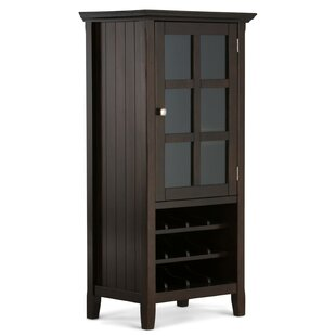 Mayna 12 Bottle Floor Wine Cabinet by Alcott Hill