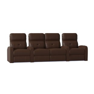 Latitude Run Tufted Home Theater Row Seating (Row of 4)