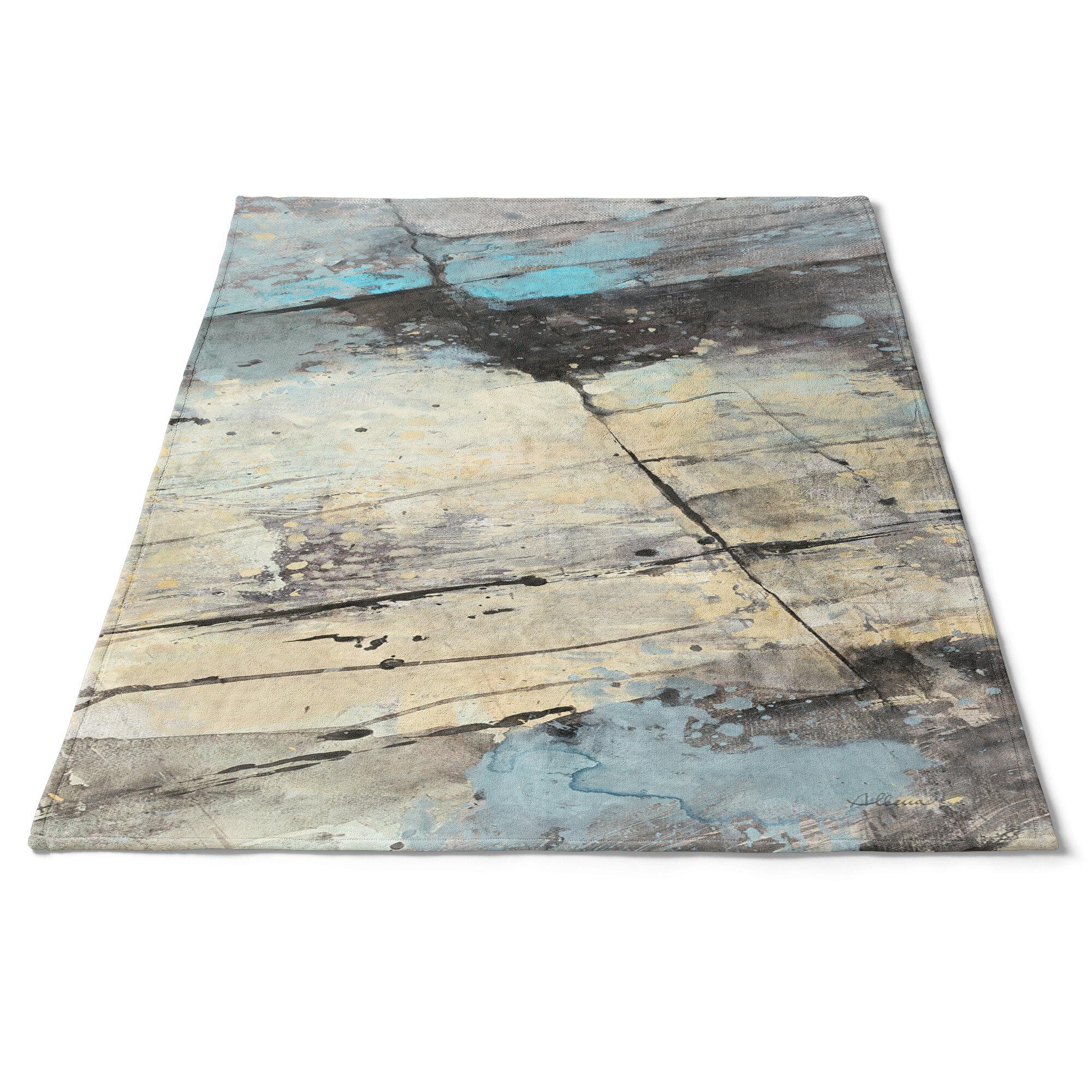 East Urban Home Rock Panel Ii Blanket Wayfair
