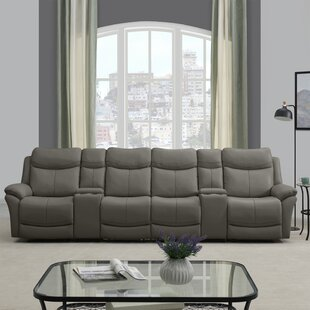 Red Barrel Studio Cheryll 4 Seat Wall Hugger Reclining Sofa