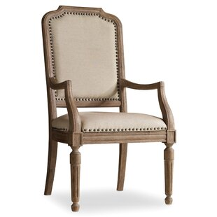 Corsica Upholstered Dining Arm Chair (Set of 2) by Hooker Furniture