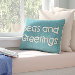 Brigid Seas and Greetings 100% Cotton Lumbar Pillow