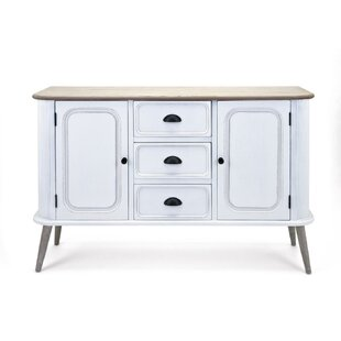 Gracie Oaks Buiron Fascinating Wooden Console Table