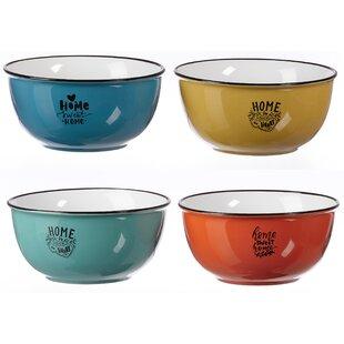 Home 500ml Cereal Bowl (Set Of 4) By Ritzenhoff & Breker