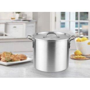 Aluminum Stock Pot with Lid