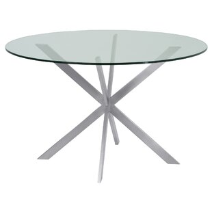 Hale Round Dining Table by Orren Ellis Coupon
