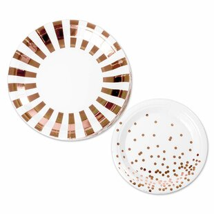 2 Piece Paper Disposable Plates