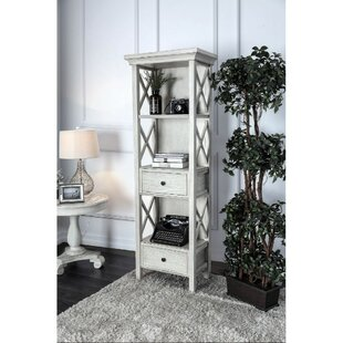 Elijah Standard Bookcase by One Allium Way Sale
