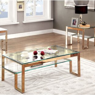 Mcnelly 2 Piece Coffee Table Set