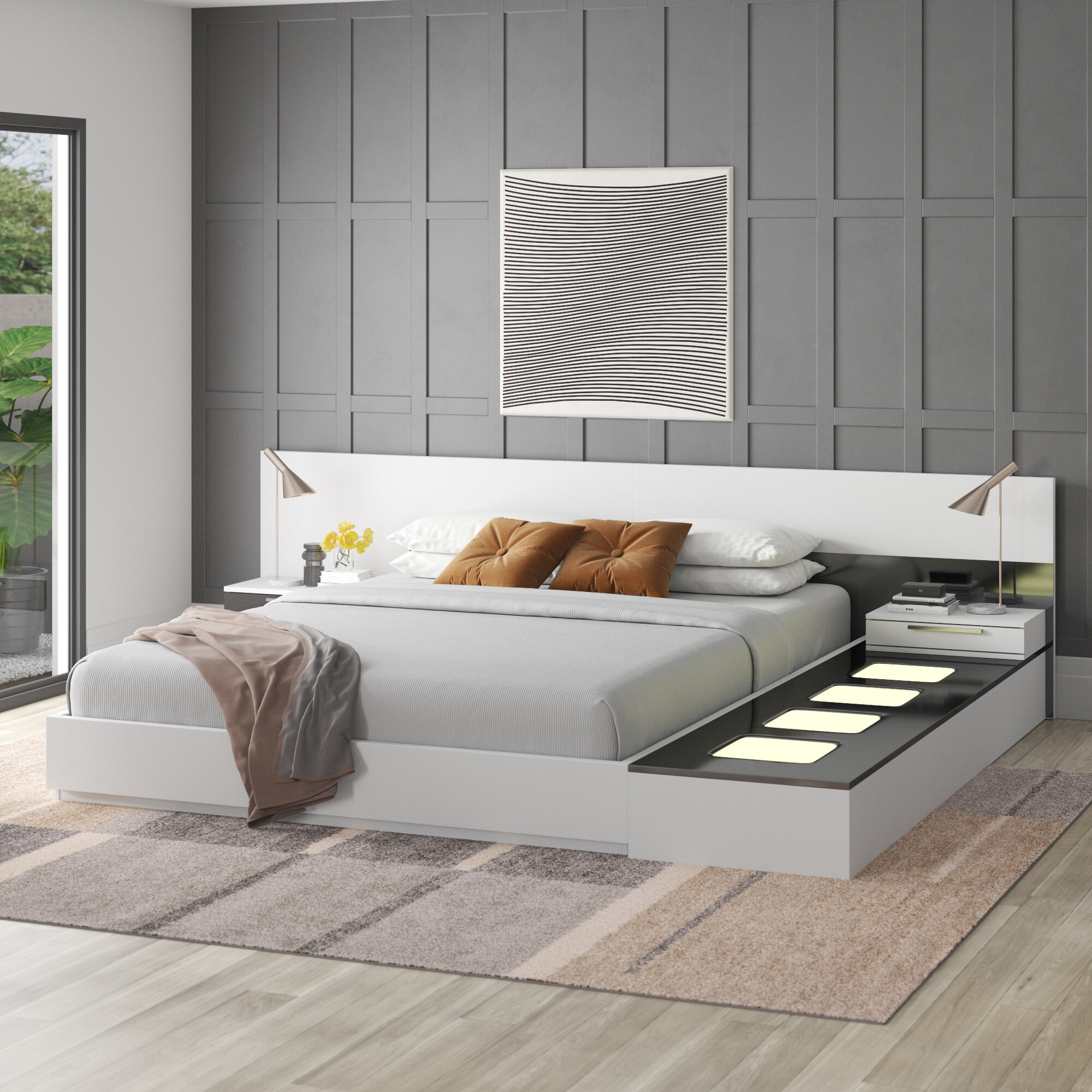 Modern Contemporary Bedroom Sets You Ll Love In 2021 Wayfair