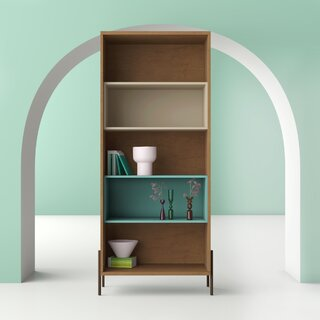 Alviso Standard Bookcase by Hashtag Home SKU:CE512955 Buy