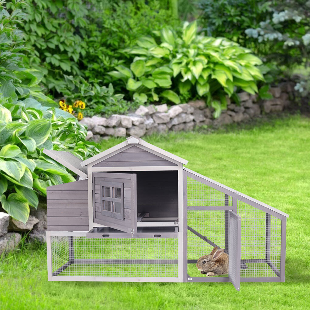 Gray Wood Wood Chicken Coops You Ll Love In 2021 Wayfair