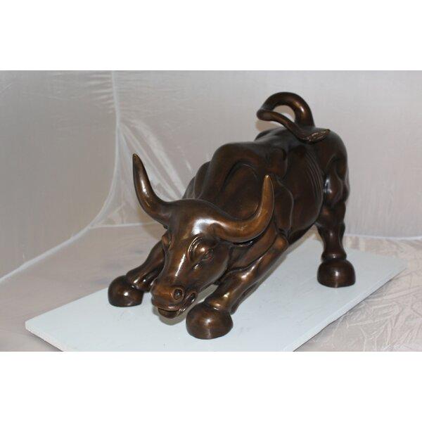 Wall Street Bull Statue Wayfair