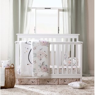 Compare prices Dreamit Floral 6 Piece Crib Bedding Set BySouth Shore