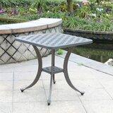 Waddington Aluminum Side Table