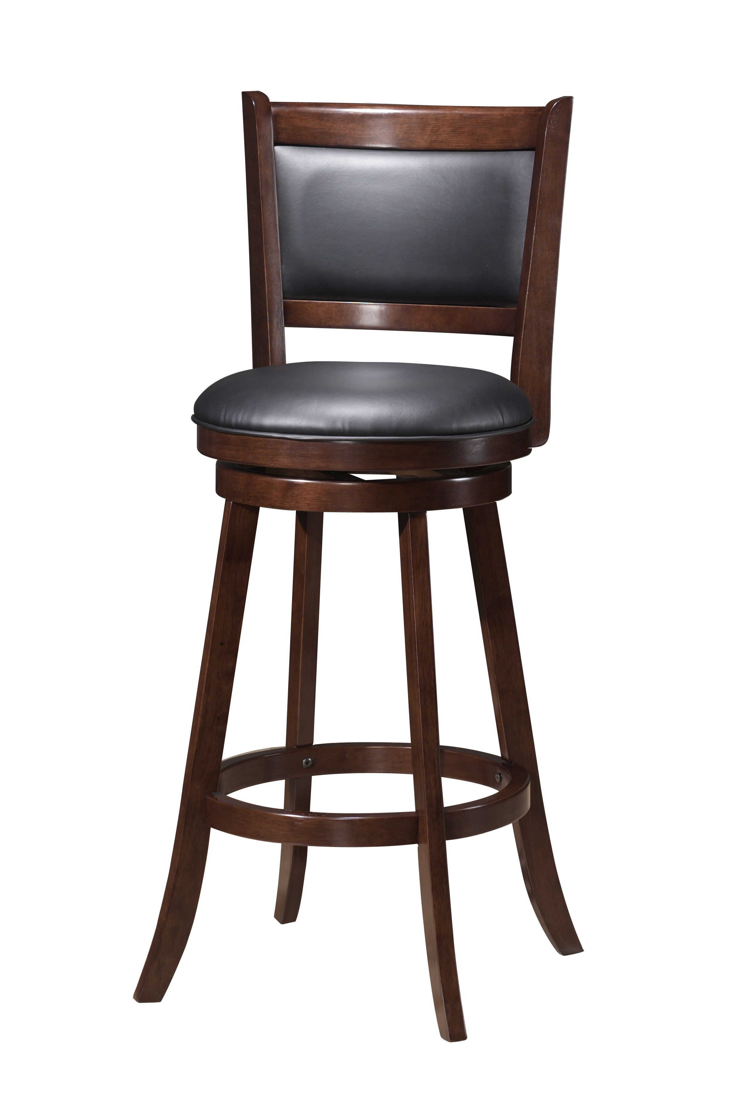 Red Barrel Studio Tuthill Wooden Swivel Bar Stool Reviews