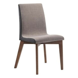 Buy clear Earls Upholstered Dining Chair (Set of 2) by Corrigan Studio Reviews (2019) & Buyer's Guide