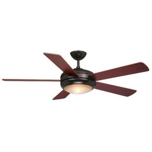 Top Reviews Morfin 5-Blade Ceiling Fan By Ebern Designs