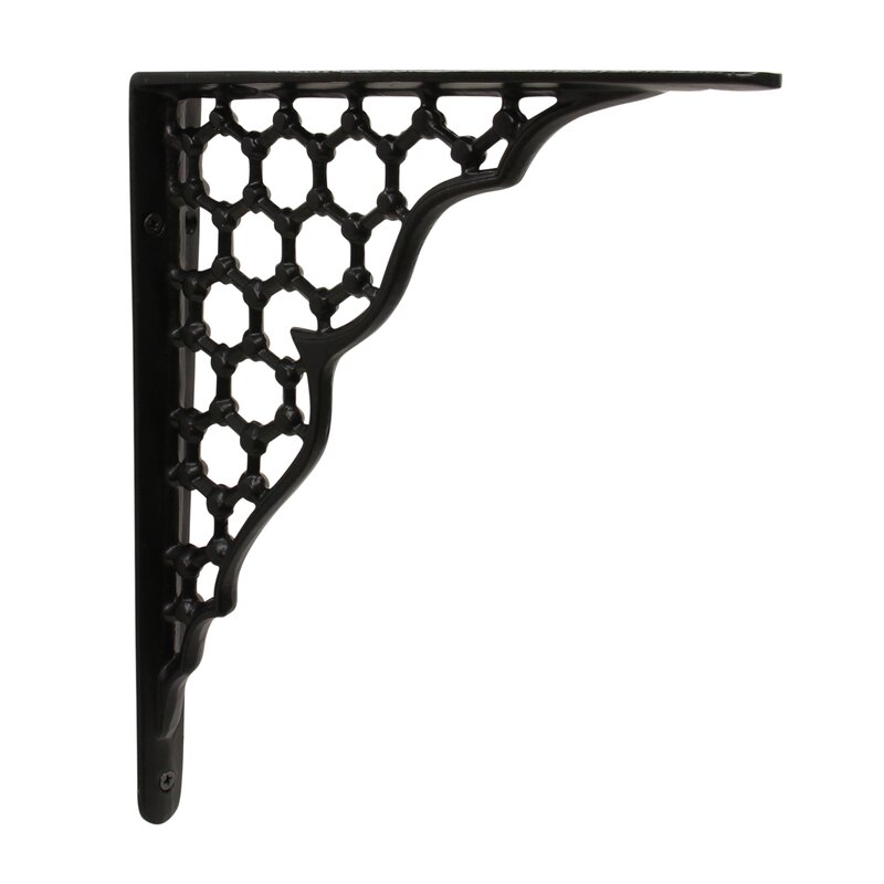 Talon Honeycomb Hex Pattern Shelf Bracket