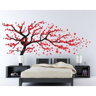 2bc6134e45ac Cherry Blossom Wall Decal | Wayfair