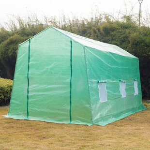 Outsunny 6 Ft. W x 15 Ft. D Hobby Greenhouse