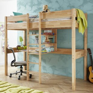 Hadley European Single High Sleeper By Harriet Bee