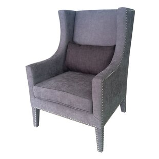 Fifth Avenue Wingback Chair by Crestview Collection