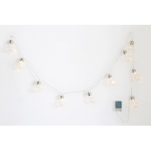 Turn on the Brights Wilbourn 6.875 ft. 10-Light Globe String Lights