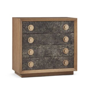 Yasmine 4 Drawer Accent Chest by Brayden Studio