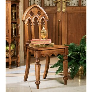Design Toscano The Abbey Gothic Revival Side Chair