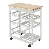 Isidoro Kitchen Cart by Winston Porter