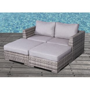Brayden Studio Pierson Modular Daybed with Cushions
