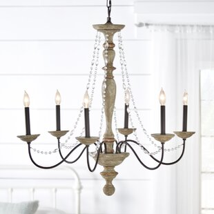 Lark Manor Eline 6-Light Chandelier