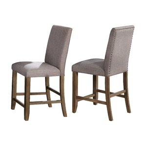 Manning Counter Height Upholstered Dining Chair (Set of 2) by Crown Mark