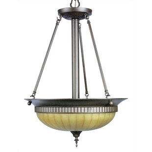 Virginia 3-Light Bowl Pendant by Darby Home Co