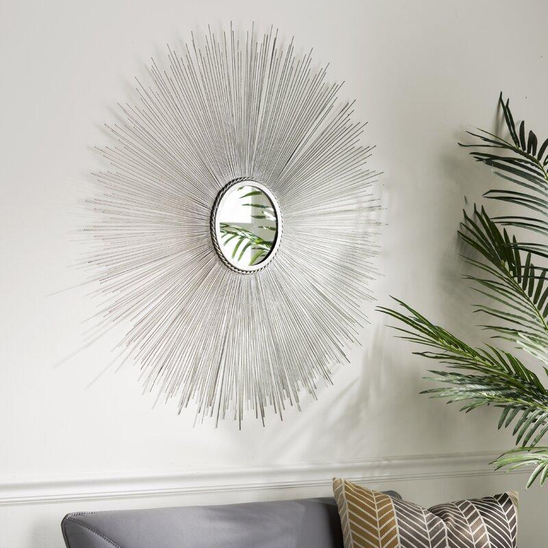 Langley Street Jarrod Sunburst Accent Mirror Reviews Wayfair