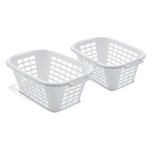 Laundry Basket (Set Of 2) By Wayfair Basics