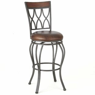Malinda 30 Swivel Bar Stool Red Barrel Studio