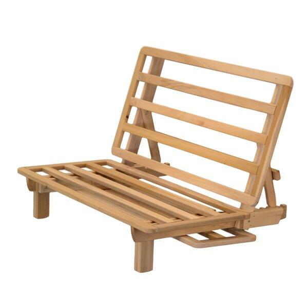 kd frames kd lounger futon frame  u0026 reviews   wayfair  rh   wayfair