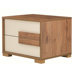 Compare & Buy Linsey 2 Drawer Nightstand by Wrought Studio