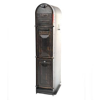 OreProductsLLC Classic Shadow Locking Post Mounted Mailbox | Wayfair ca
