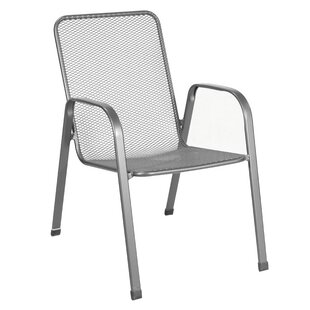 Verona Stacking Patio Dining Chair (Set of 4)
