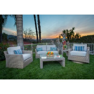 Soto 5 Piece Sofa Seating Group With Cushions By Bayou Breeze