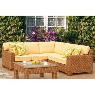 St George 5 Piece Sectional with Cushion