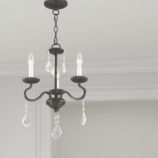 Astoria Grand Doncaster 3-Light Candle Style Chandelier