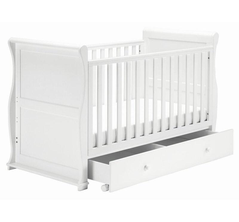 East Coast Montreal Cot Bed 3 Piece Nursery Furniture Set Reviews Wayfair Co Uk